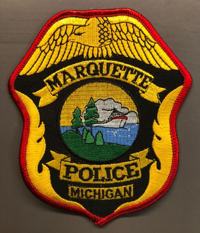 RARE~ Marquette Michigan Police Patch