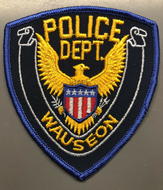 Wauseon Ohio Police Patch