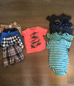 6-12 month baby boy summer clothes