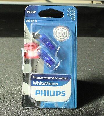 W5W Philips White Vision Signal Lampen Standlicht Birnen Audi BMW Ford VW MB