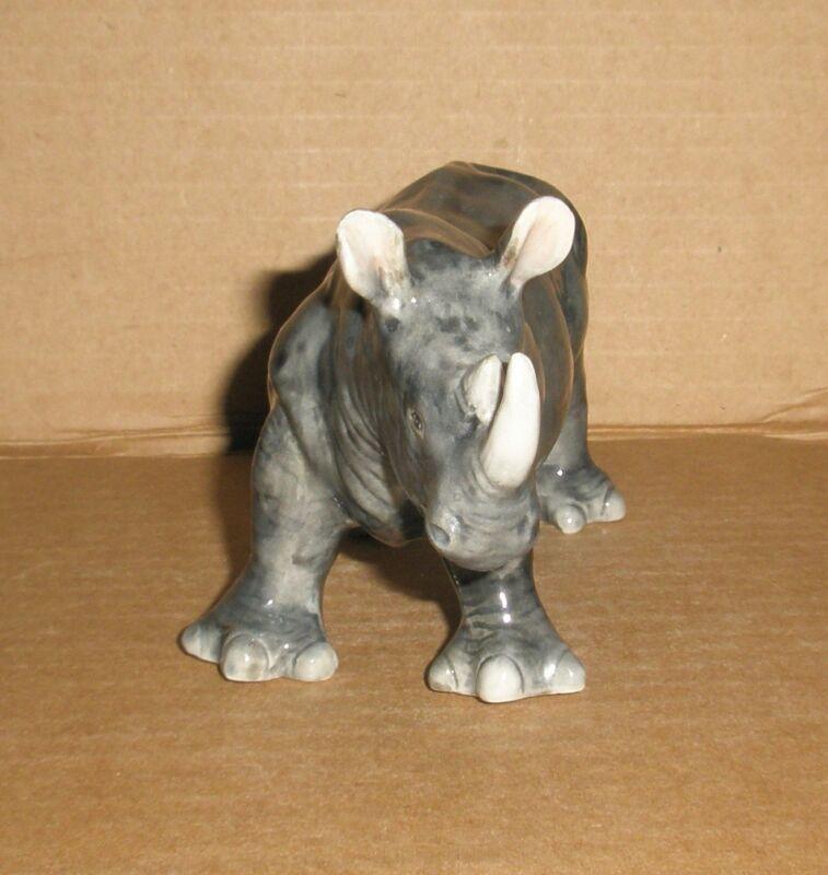 Baby Rhinoceros figurine.