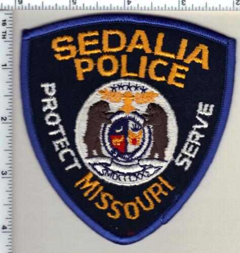 Sedalia Police (Missouri) Shoulder Patch from 1994