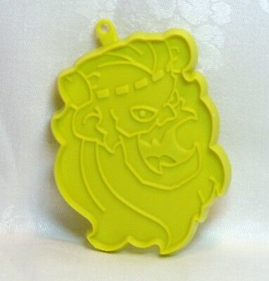 Hallmark Vintage Plastic Cookie Cutter - Monster Face Monster Rock Halloween