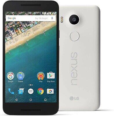 LG Nexus 5X H790 32GB White (Factory GSM & CDMA Unlocked) Good 8/10 #4158