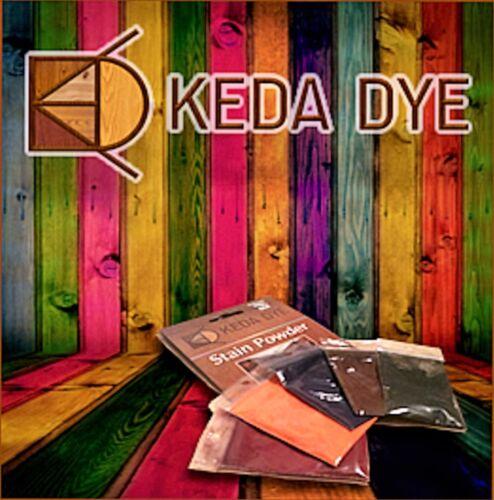 Keda Dye Single Wood Dye Color Option - Select Single Dye Colors 25 Gram Kit