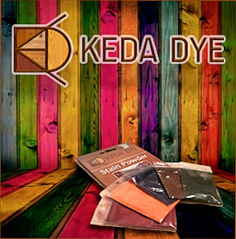 Keda Wood Dye - 5 Color Kit