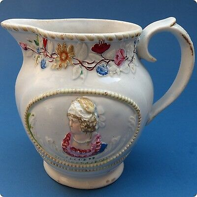 c1820 Extremely Rare Queen Caroline Small Jug