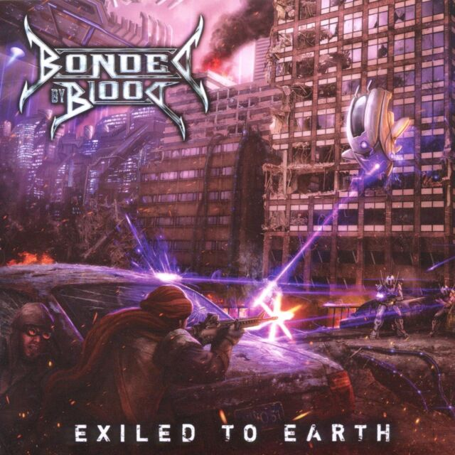 BONDED BY BLOOD - Exiled To Earth CD NEU!