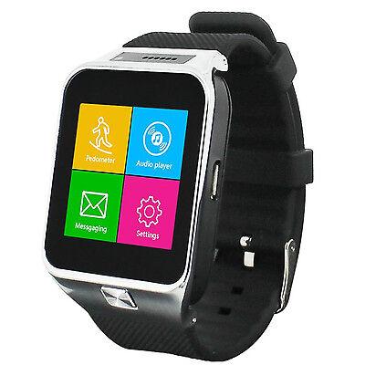 GSM UNLOCKED!  Touch Screen Bluetooth Spy Camera Smart Watch Phone - Great Gift! Unlocked Gsm Touchscreen