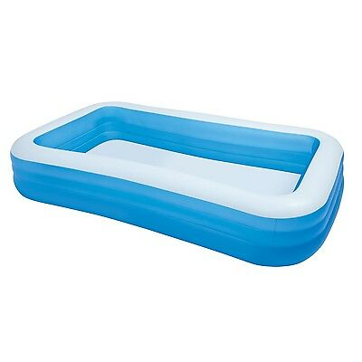 "Intex Swim Center 72"" x 120"" Family Backyard Inflatable Swimming Pool 