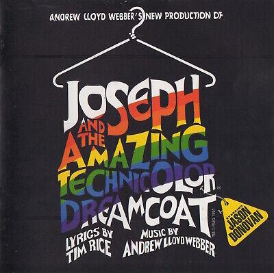 JOSEPH AND THE AMAZING TECHNICOLOR DREAMCOAT - JASON DONOVAN - SOUNDTRACK (Jason Donovan Joseph And The Amazing Technicolor Dreamcoat)