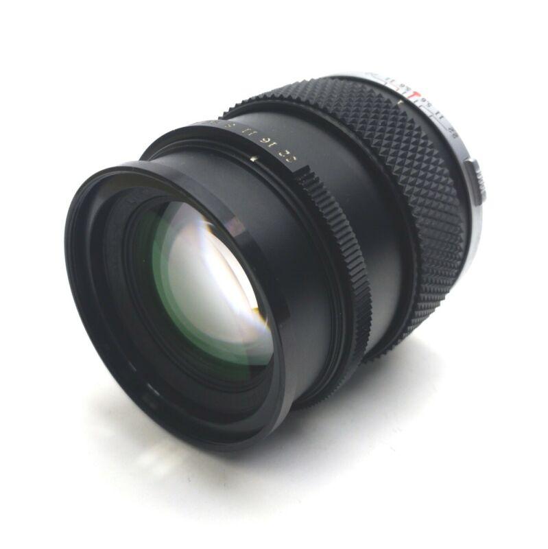Olympus Machine Vision Camera Lens 100mm Aperture F/2.8 OM Mount *Bad Aperture*