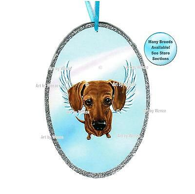 Dachshund Angel Ornament Pet Memorial Dog With Angel Wings Dachshund Angel Dog Ornament