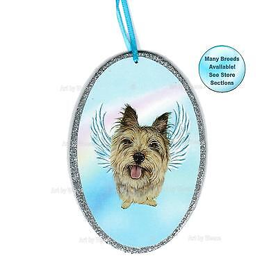 Cairn Terrier Angel Ornament Dog With Wings Memorial Christmas Ornament