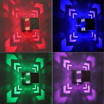 3W LED Wall/Ceiling Light Fixture Cube Box Lamp Disco Vestibule Corridor Canteen](Disco Ceiling Light)