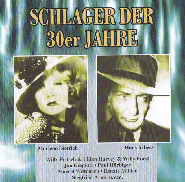 SCHLAGER DER 30er JAHRE rare CD 18 Tracks NEU & OVP 78rpm time ZYX 1998