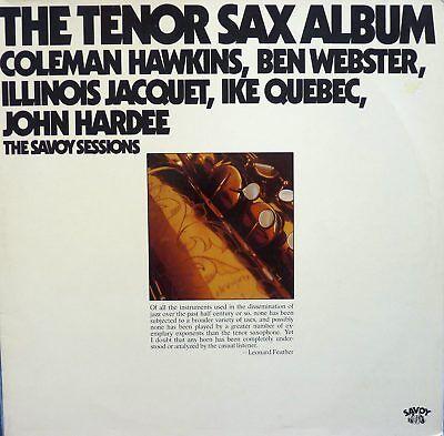 DoLP Various Artists - The Tenor Sax Album - Coleman Hawkins, Ben Webster u.a.
