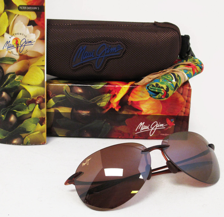 Maui Jim  Sunglasses | Sugar Beach H421-26 | Rootbeer Rimles