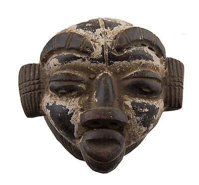 Mask African Passport Terracotta Earth Cotta Art Tribale Igbo 6364 E9B