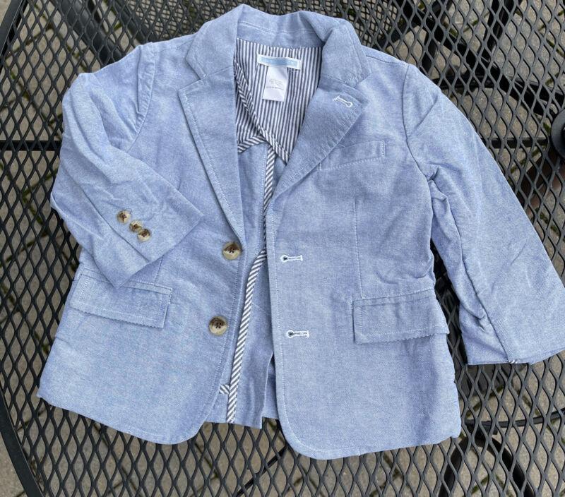 Janie Jack Baby Kids Boys Suit Casual Dress Jacket 18 24 Months