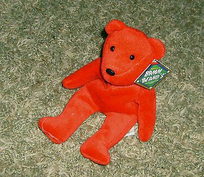 Salvino's Bamm Beano's Red Bear Sammy Sosa 21 1998 - With Tag