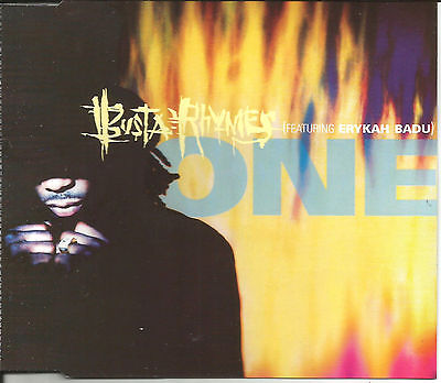 Busta Rhymes   Erykah Badu One   Woo Clean   Turn It Up Remix Cd Single Sealed
