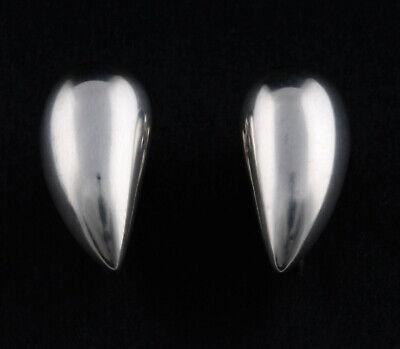 GEORG JENSEN Sterling Ear Screws 2007. Artist. Silver. Design: Jacqueline Rabun