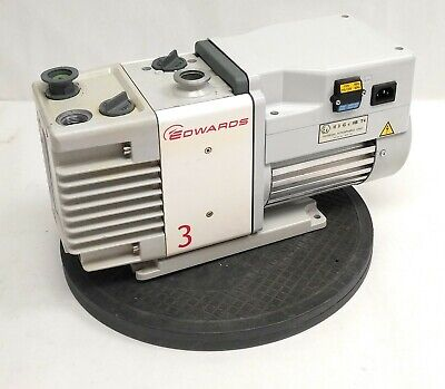 Edwards Rv3 A652-01-903 Rotary Vane Dual Stage Vacuum Pump