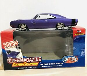 Rare! RC2 Joyride Rides Magazine Presents: 1969 Dodge Charger