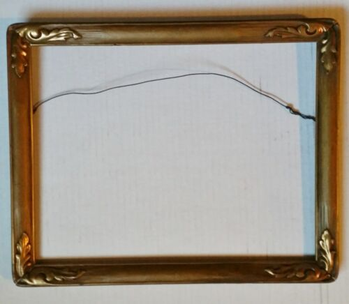 Antique Carved Period Frame TAOS SCHOOL Classic ARTS CRAFTS Macklin Style Frame