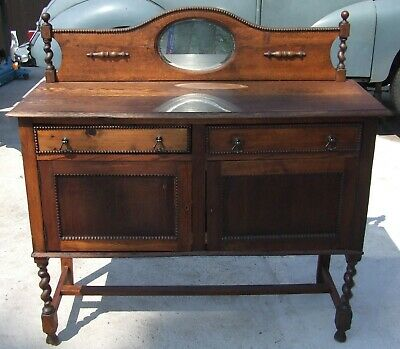 Late Victorian / early Edwardian sideboard