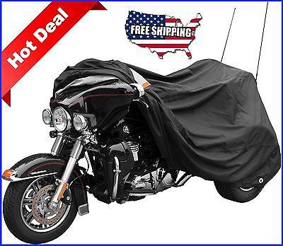 Harley Davidson Trike Cover Motorcycle Tri Glide Ultra Triglide Touring FLH trim