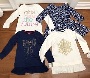 8T girls winter lot 4 pieces all brand new