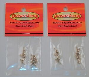 40 Replacement Rivet Heads For Hot Wheels Matchbox Restoration & Custom Projects