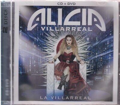 Alicia Villareal Cd   Dvd La Villareal 602557741247 Now Shipping