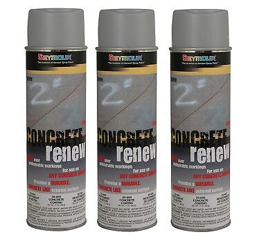 Seymour 20-600 Concrete Renew Coating Spray Paint 3pack