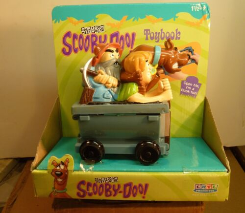 SCOOBY DOO! MINERS CAR TOY BOOK ORIGINAL PACKAGING CARTOON NETWORK