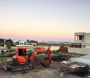 5 tonne excavator & 6 metre tipper hire Narangba Caboolture Area Preview