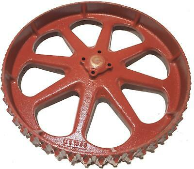 Toro 16 Cast Iron Wheel 01336 For Reelmaster Blade Gang Mowers Nos