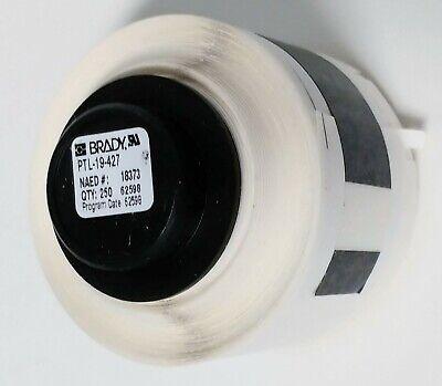 Brady Tls2200 White Ptl-19-427 Y1802407 18373 Print 250 Label Roll