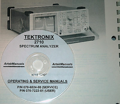 Tektronix 2710 User And Service Manuals 2 Volumes
