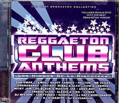 Reggaeton Club  Tempo  Daddy Yankee  Wisin Y Yandel Nicky Jam  Don Omar   Cd Dvd