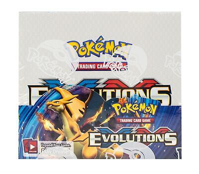 POKEMON XY EVOLUTIONS BOOSTER BOX - M CHARIZARD EX