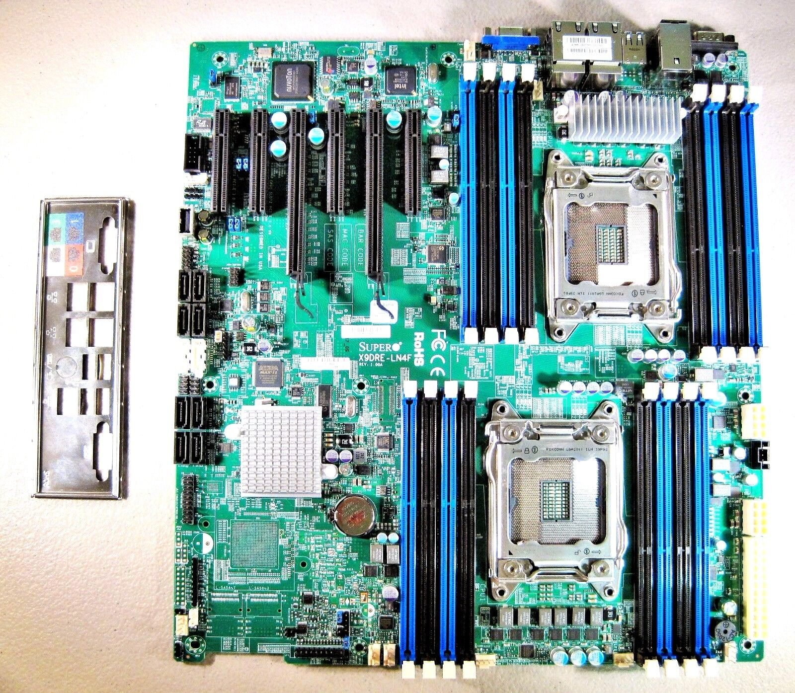 SuperMicro X9DRE-LN4F Server Motherboard LGA 2011/DualSocket R &I/O Extended ATX #BuyThing US