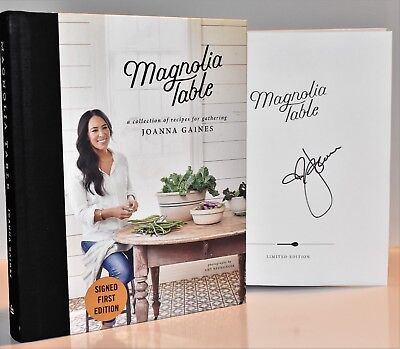 ✎✎SIGNED 1/1✎✎Magnolia Table AUTOGRAPHED by Joanna Gaines (+COA) NEW