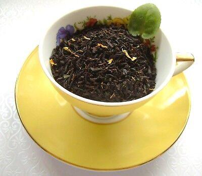 Tea Blend Raspberry Mandarin Orange Asian Black Pure & Naturally Flavored CB ()