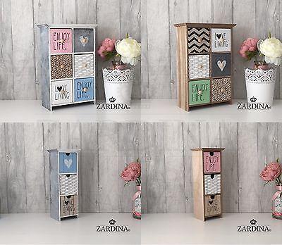 Lilian - Wooden Decorative Mini Drawer Storage Box