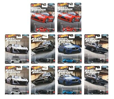 Hot Wheels 1:64 2020 FAST & FURIOUS FULL FORCE GBW75-956H CASE OF 10 NEW