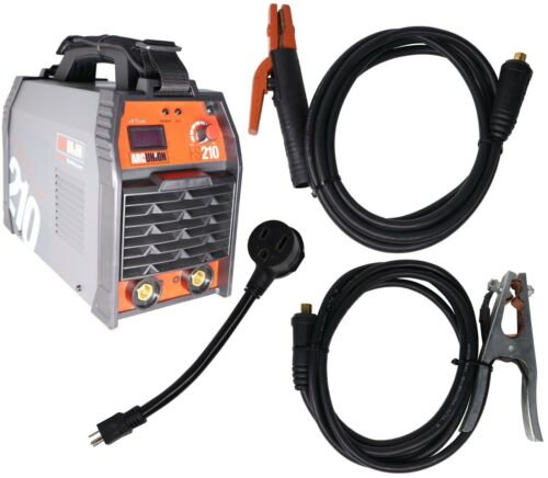 Arc Union DC 210 amp Professional Dual Voltage Input Stick Welder Package IGBT