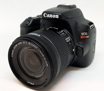 Canon EOS Rebel SL3  24.1MP DSLR Camera with EF-S 18-55mm f/4-5.6 IS STM